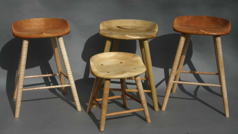 Fantastic Tractor Seat Stools Onthecornerstone Fun Painted Chair Ideas Images Onthecornerstoneorg