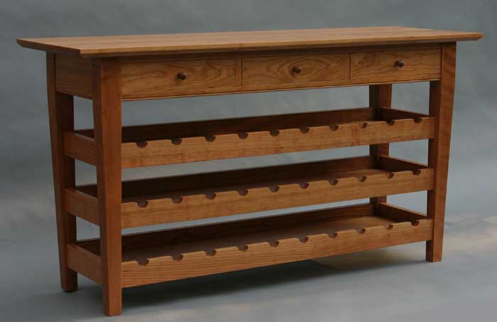 Hall Table With Wine Storage